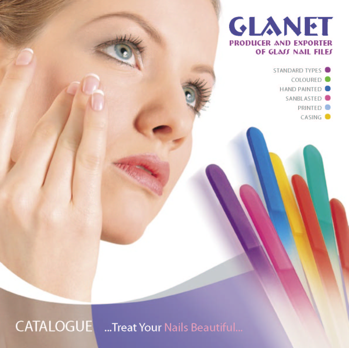 GLANET - glass nail file producer & exporter